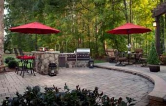 Belgard Hardscapes, backyard pavers design